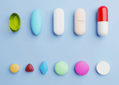 Identification of drugs and medicines by shape